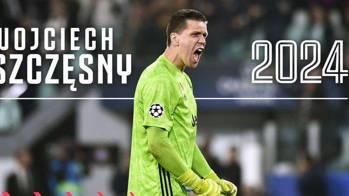 Kontrak Wojciech Szczesny Diperpanjang Juventus Hingga 2024