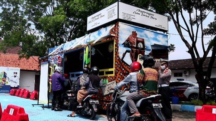 Layanan Perpanjangan SIM Lantatur di Polresta Solo Hanya 3 Menit