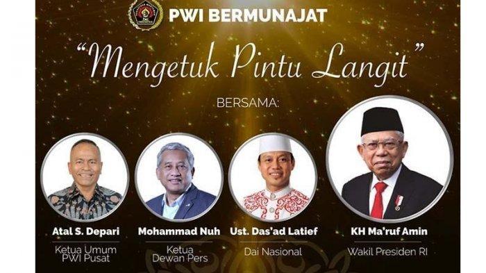 Pengurus & Anggota PWI se-Jateng Diajak Munajat Virtual 'Mengetuk Pintu Langit' pada 24 Juli 2021