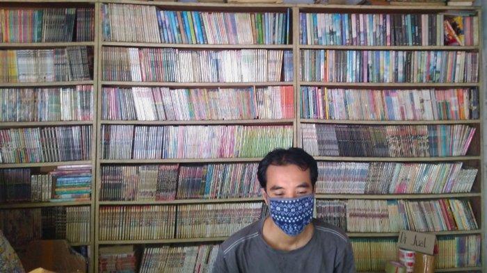 Persewaan Buku di Jalan S Parman Semarang Itu Kini Sepi Peminat, Wahyu: Sebulan Sekali Orang Datang