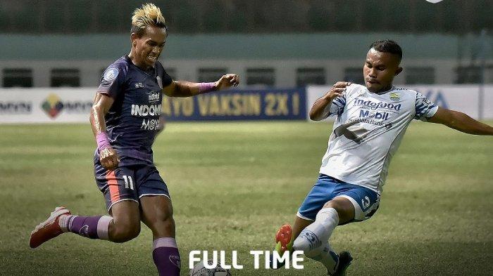 Hasil Persita vs Persib di Liga 1 2021: 2 Gol Kemenangan Maung Bandung Diborong Rashid
