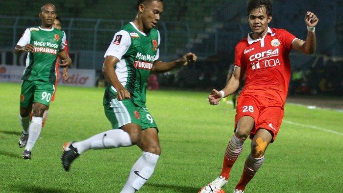 Gol Rudi Widodo Antar Persija Jakarta Taklukkan PS TNI