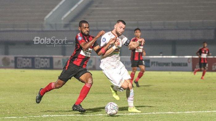 Persipura Jayapura Vs Persija Jakarta Berakhir 0-0