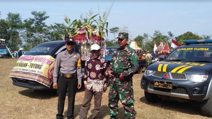 Personel TNI-Polri di Pati Amankan Karnaval Sedekah Bumi