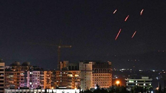 Israel Bombardir Damaskus, Tentara Suriah Klaim Jatuhkan Sejumlah Rudal