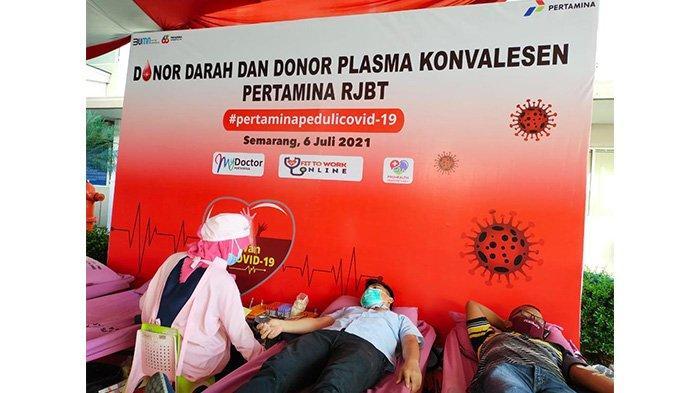 Pertamina Kembali Galakan Donor Darah dan Donor Plasma Konvalesen Bagi Pekerja