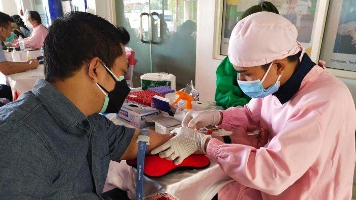 Pertamina mengajak pekerja di lingkungan Pertamina untuk donor darah & donor plasma konvalesen