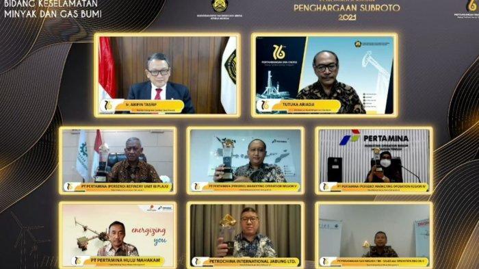 Pertamina Jawa Bagian Tengah Raih Penghargaan Soebroto Award 2021