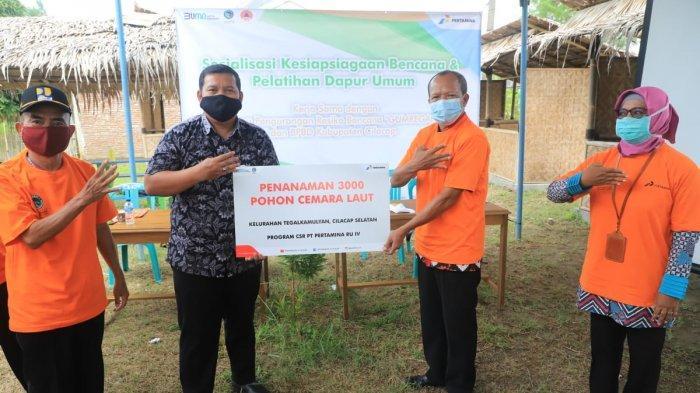 Kilang Pertamina Cilacap Sosialisasikan Kesiapsiagaan Bencana bagi Masyarakat Pesisir