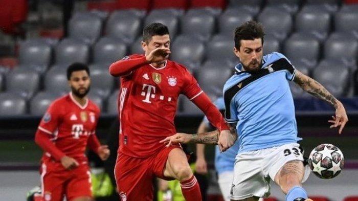 Hasil Muenchen vs Lazio, Gagal Bantai Lawan Lewandowski Tetap Lolos Perempat Final Liga Champions