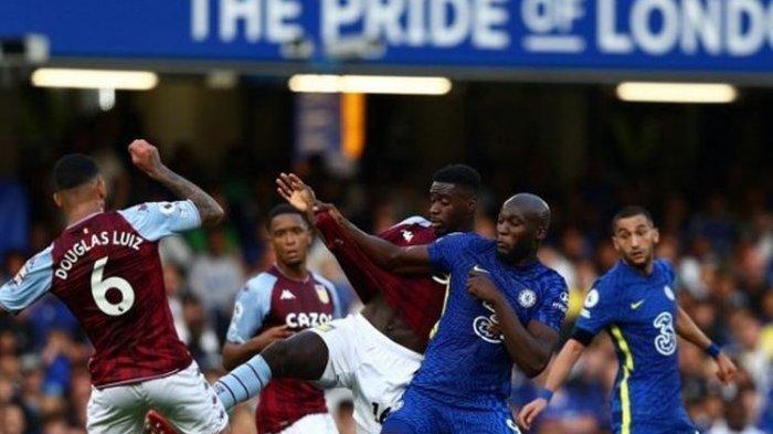 Hasil Liga Inggris Chelsea vs Aston Villa: Romelu Lukaku Tampil Bersinar dengan 2 Gol