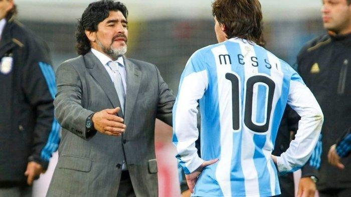 Messi Dedikasikan Kemenangan Argentina di Copa America 2021 untuk Diego Maradona