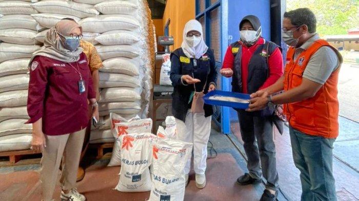 Bulog Jateng Mulai Salurkan Bantuan Beras PPKM, Target 22.260 Ton