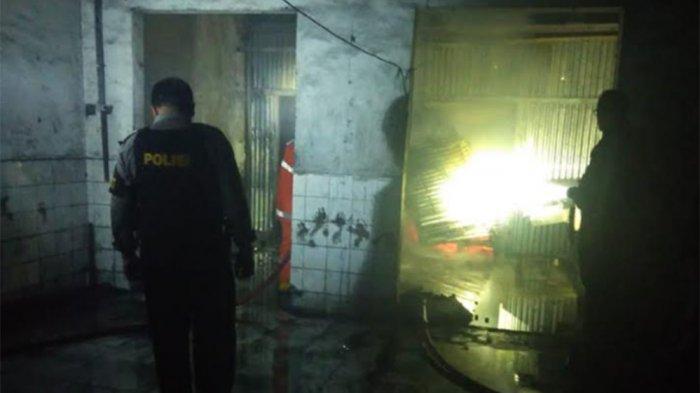 Perusahaan Milik Polisi Ini Terbakar Habis, Kerugian Ratusan Juta Rupiah