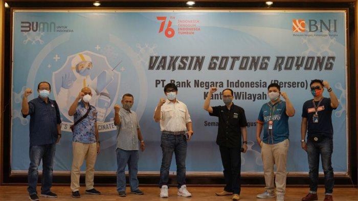 BNI Laksanakan Vaksinasi Gotong Royong untuk Karyawan dan Keluarga