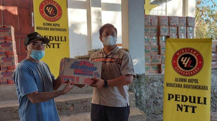 Alumni Akpol Angkatan 44  Salurkan Bantuan Peduli NTT, Datangi Daerah yang Belum Tersentuh Bantuan