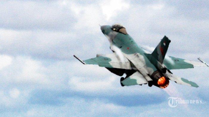 TNI AU dan Angkatan Udara Amerika Gelar Latihan Tempur dengan F-16 di Pekanbaru