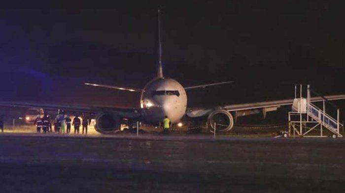 Pesawat Garuda Tergelincir di Yogya, Begini Keterangan Danlanud Adi Sucipto