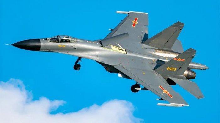 China Kirim 20 Pesawat Tempur untuk Serangan Udara Ke Taiwan, Disebut Pengerahan Terbesar