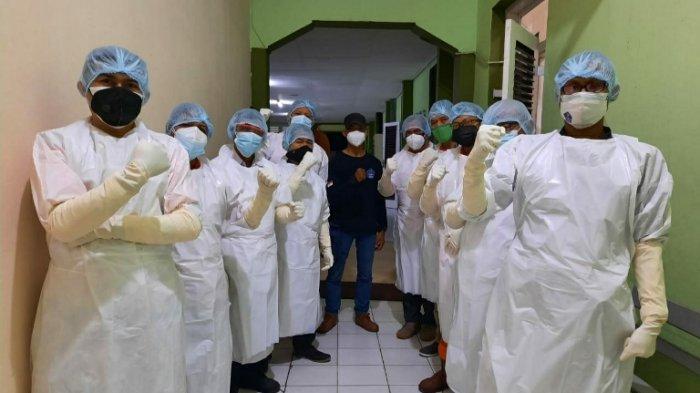 PPKM Berlanjut, RSUP Dr Kariadi Latih Relawan Pemulasaraan Jenazah Covid-19