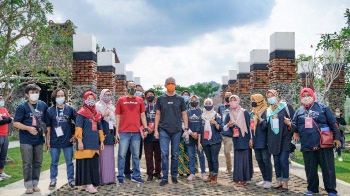 Bank Jateng dan Borobudur Marathon Gagas Pawone Sinau Bareng 25 Pelaku UMKM