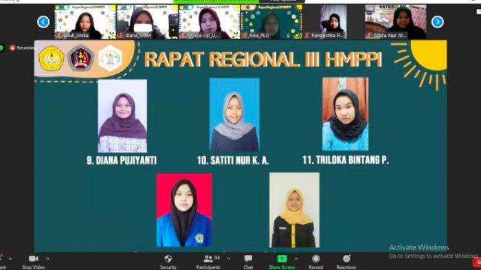 Unsoed Purwokerto Tuan Rumah Rapat Regional III HMPPI