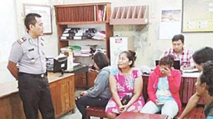 TERCIDUK, Tiga Perempuan dan Dua Laki-laki Pesta Miras Siang Bolong