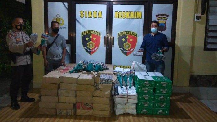 Polisi Amankan Belasan Ribu Petasan Cengis & Ses Dor di Banyumas, Rencana Dijual Ke Kebumen