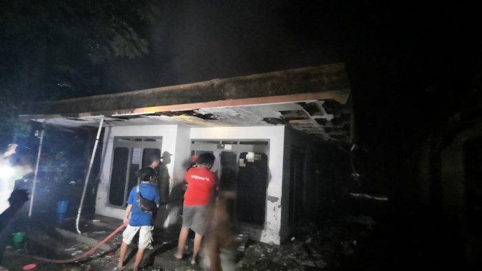 Jelang Idul Adha, Kompor Gas Bocor Sebabkan Rumah Salim di Pati Terbakar, Harta Benda Ludes