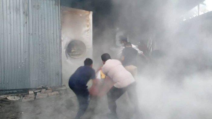 Pabrik Briket di Blora Terbakar, Kerugian Capai Rp 300 Juta