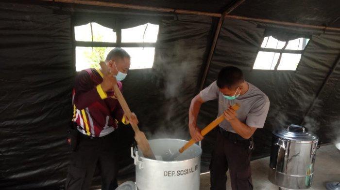 Dapur Umum Didirikan, Bantu Makanan Siswa SMP di Mrebet Purbalingga yang Jalani Isolasi Terpusat