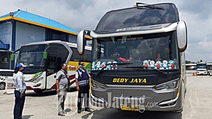 Angkutan Umum hingga Andong di Kabupaten Tegal Wajib Patuhi SOP Protokol Kesehatan