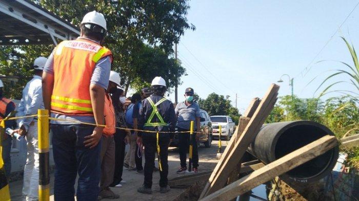 Pemasangan Pipa Air Baku Bendung Karet Kendal Ditarget Selesai Desember