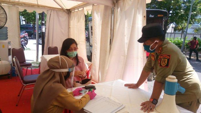 Petugas Pos Pantau Kampung Kali Semarang Temukan Pengendara dari Jakarta Suhunya 38 Derajat