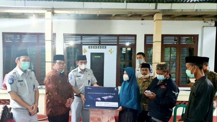 Jasa Raharja Jateng Beri Santunan ke Warga Kebumen yang Jadi Korban Pesawat Sriwijaya Air