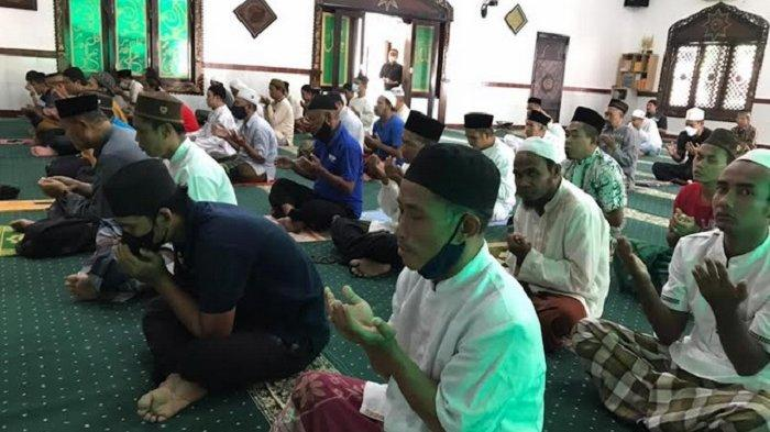 Warga Binaan Lapas Semarang Ikuti Istighosah dan Salat Ghaib Doakan Korban Kebakaran Lapas Tangerang