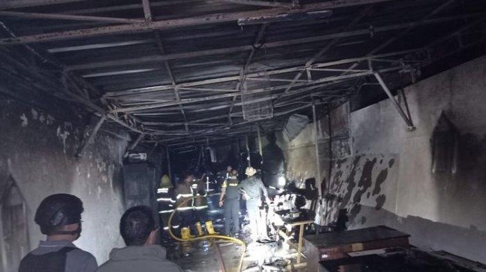 LapasSukabumi Terbakar, Tiga Unit Mobil Damkar Dikerahkan, Diduga Akibat Korsleting Listrik