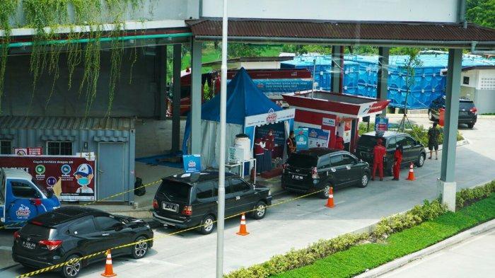 Konsumsi Tertinggi BBM Selama Nataru di Tol Trans Jawa di Rest Area KM 294 B Pemalang-Batang