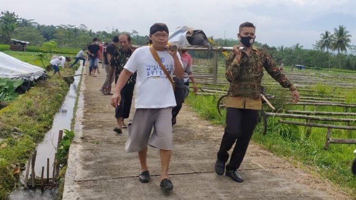 Ditemukan Mayat Perempuan di Saluran Irigasi Bojongsari Purbalingga, Diduga Terpeleset