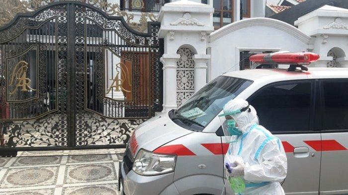 Rumah Pengundang Dewi Perssik di Kudus Didatangi Satgas Covid-19, Sekeluarga Swab Test Antigen