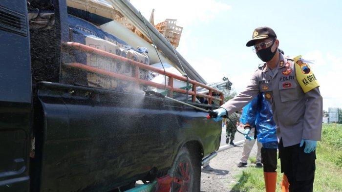 Enam Titik Perbatasan di Kebumen Dijaga Polisi untuk Pencegahan Corona