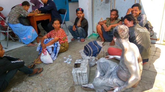 Tidak Kapok, Pengemis dan Gelandangan di Kota Tegal Sudah Pernah Terjaring Razia