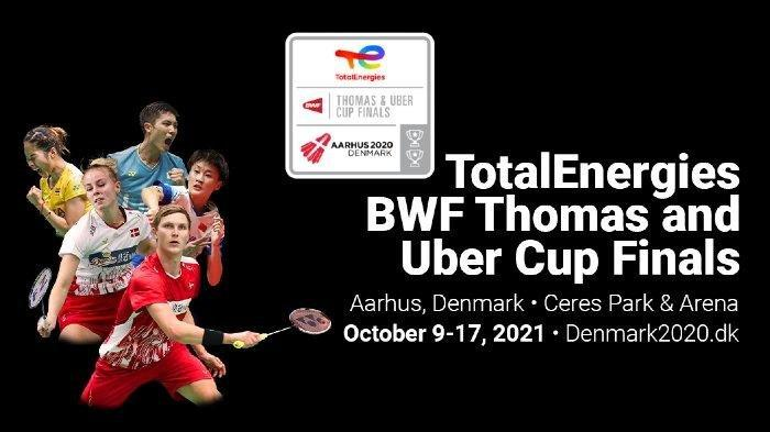 Lengkap, Hasil Drawing dan Jadwal Pertandingan Indonesia di Thomas & Uber Cup 2020, Mulai 9 Oktober
