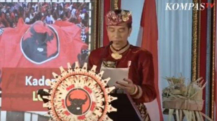 Jokowi Bahas Kemenangan Pilpres 2019, Reaksi Prabowo Disambut Sorak Riuh Kader di Kongres PDIP