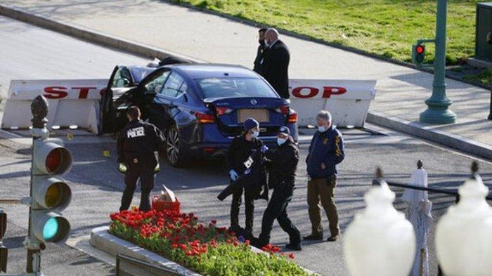 Serangan Teror di Gedung Pusat Pemerintahan Amerika Serikat, 2 Orang Tewas, Korbannya Polisi