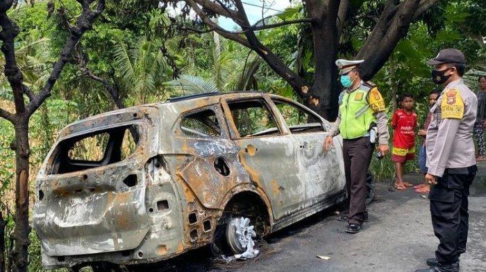Pilot dan selebgram Athira Farina alami kecelakaam lalu lintas di jalan Dusun Pelilit, Nusa Penida, Klungkung, Bali, pada Senin (15/2/2021) siang.
