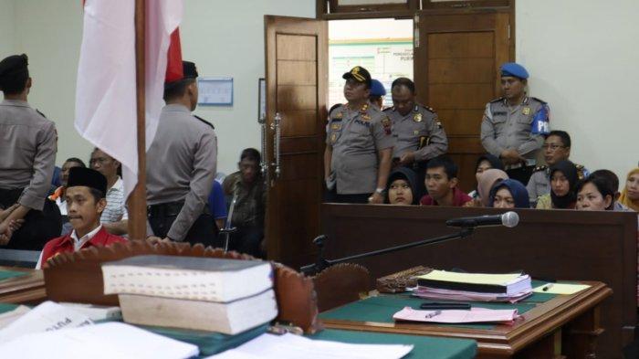 Hakim Vonis Mati Pembunuh 1 Keluarga di Purworejo, Kapolres Pimpin Pengamanan
