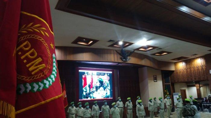 PC Pemuda Panca Marga Se Eks Karisidenan Semarang Dilantik, Ada Istri Sekda Kota Semarang