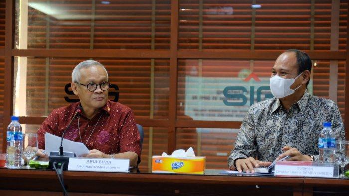 Kunjungan Spesifik Komisi VI DPR RI, Semen Gresik Berbagi Kiat Hadapi Tantangan Industri Semen
