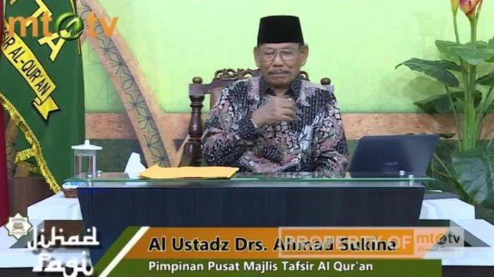 Innalillahi Wa Innailaihi Rojiun: Pimpinan MTA Ahmad Sukino Meninggal